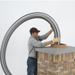 Installing a diy chimney liner kit
